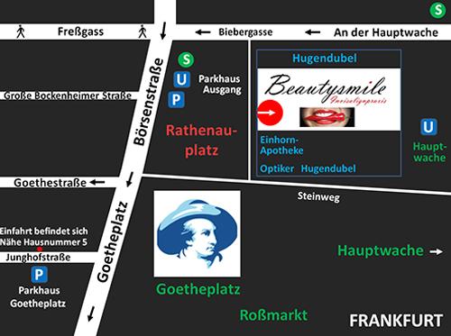 Frankfurt Nordend Ost, West Kieferorthopädie von Beautysmile